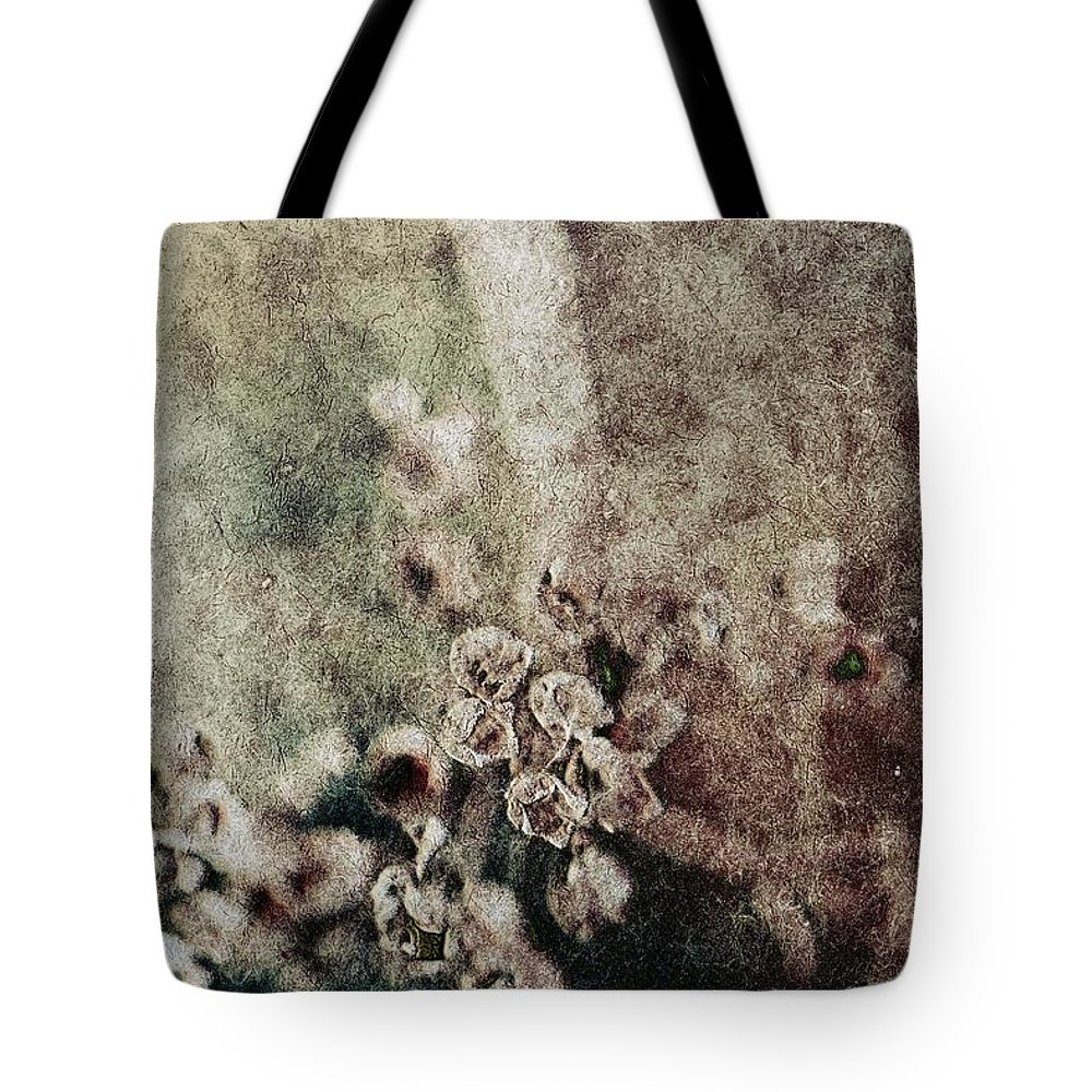 Evanescence Tote Bag featuring the photograph Evanescence by Mandy Tabatt