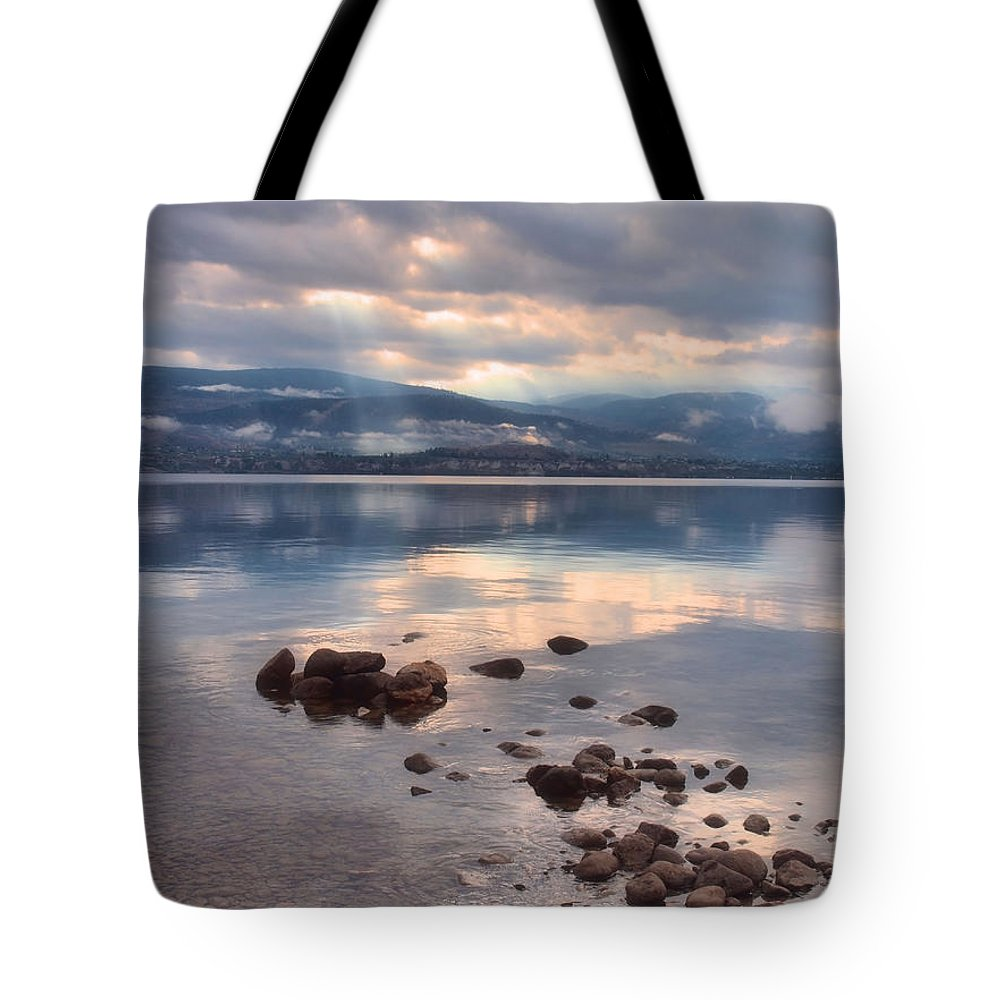 Light Tote Bag featuring the photograph Even Rainy Mondays Can Be Beautiful by Tara Turner