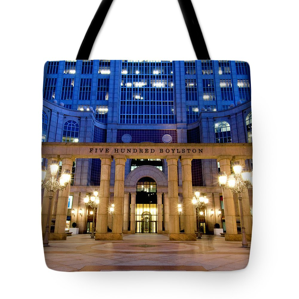 Art Tote Bag featuring the photograph Evening Begins by Greg Fortier