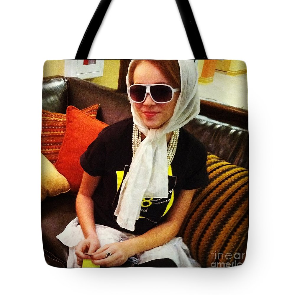 Film Fest Tote Bag featuring the photograph Exit 138 by Trish Hale