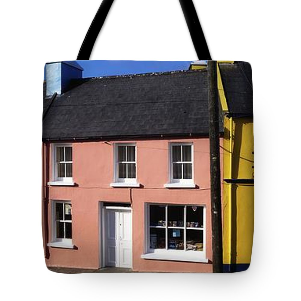 Architecture Tote Bag featuring the photograph Eyries Village, West Cork, Ireland by The Irish Image Collection