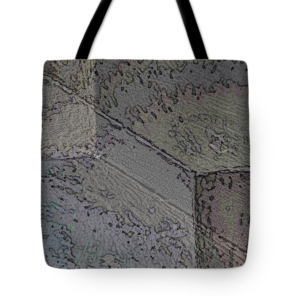 Abstract Tote Bag featuring the photograph Facade 1 by Tim Allen