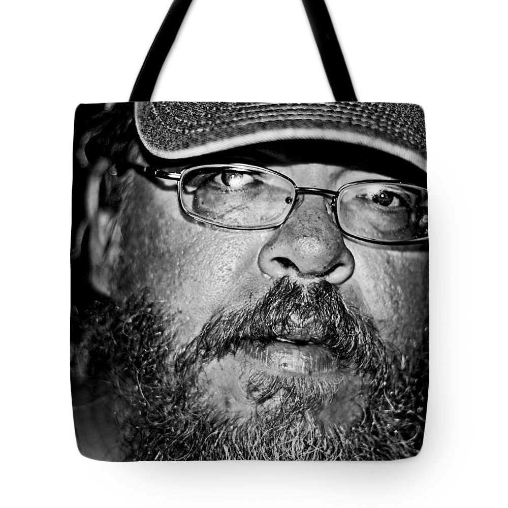 People Tote Bag featuring the photograph Faces From The Street by Gray Artus
