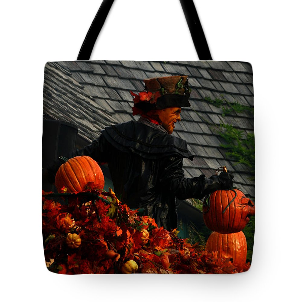 Celebration Tote Bag featuring the photograph Fall Celebration by Karen Harrison