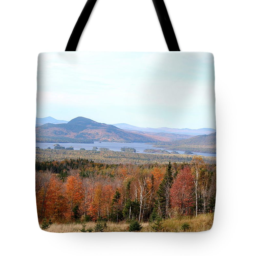 Fall Tote Bag featuring the photograph Fall Landscape by Christiane Schulze Art And Photography