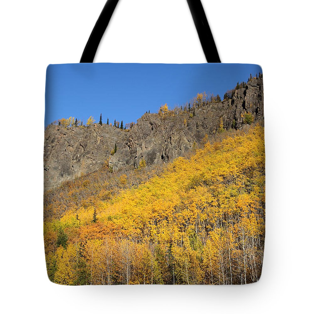 Doug Lloyd Tote Bag featuring the photograph Fall Mountains by Doug Lloyd
