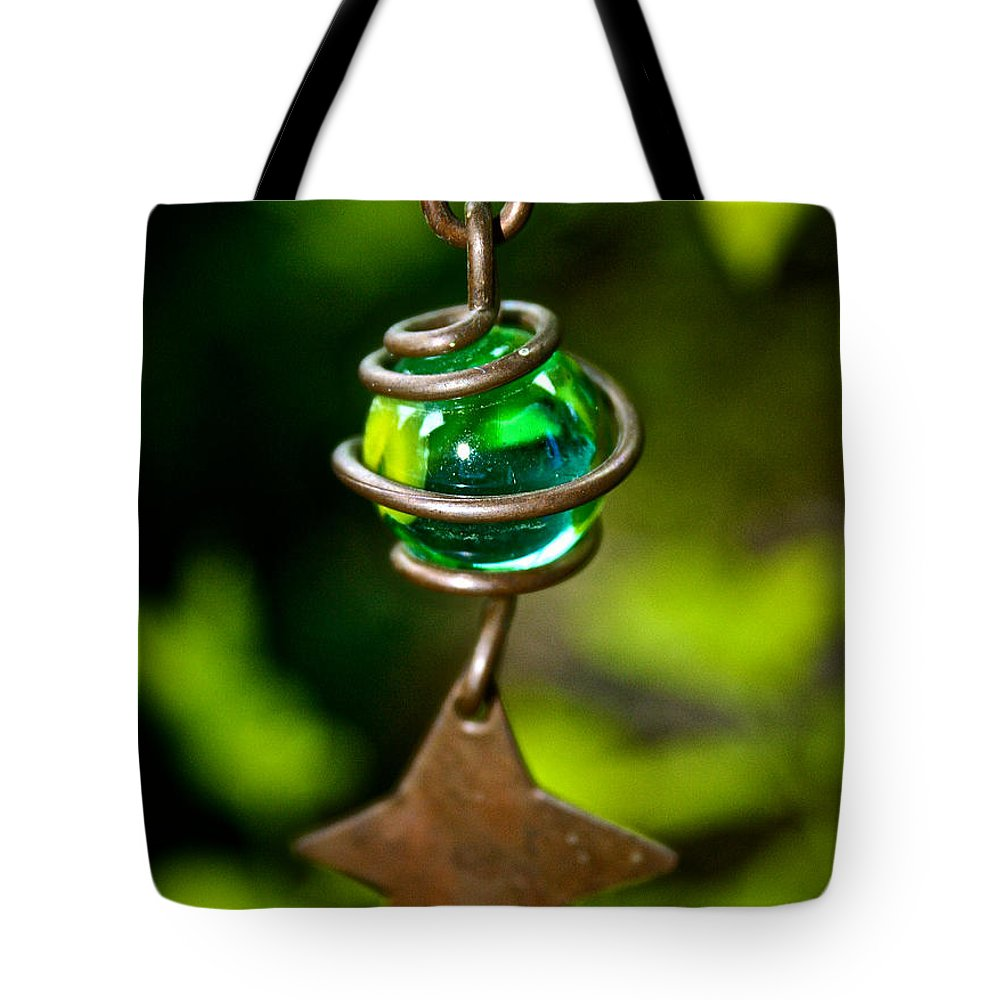 Marble Tote Bag featuring the photograph Falling Star by Susan Herber