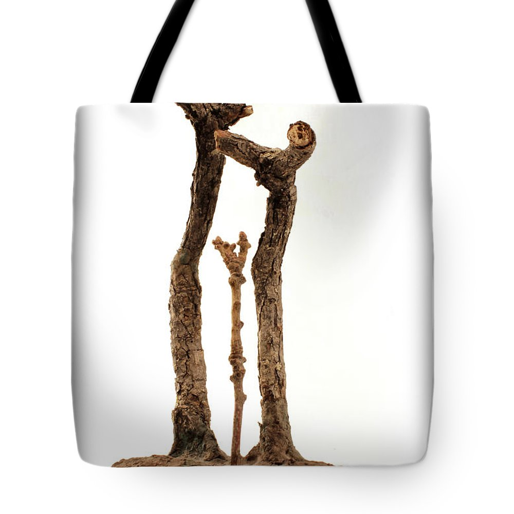 Family Tote Bag featuring the mixed media Family by Adam Long