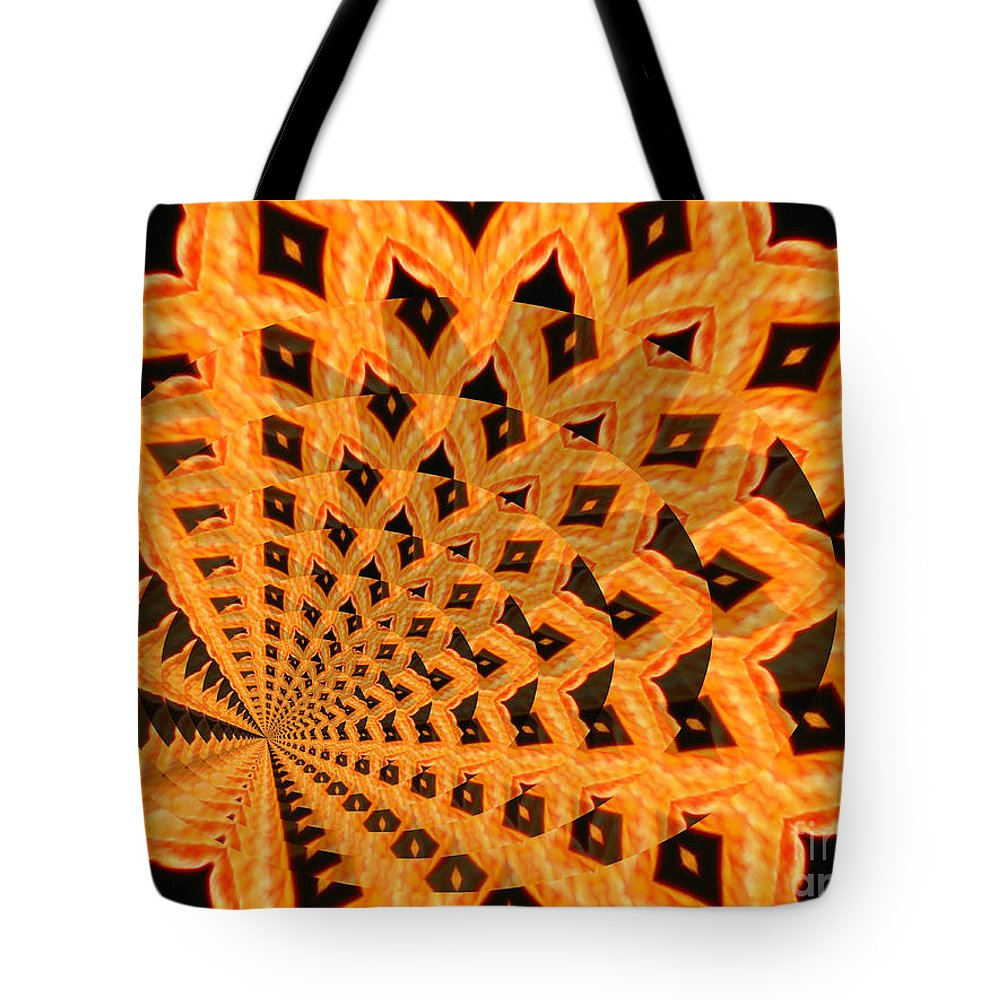 Digital Art Tote Bag featuring the photograph Fancy Coral by Donna Brown