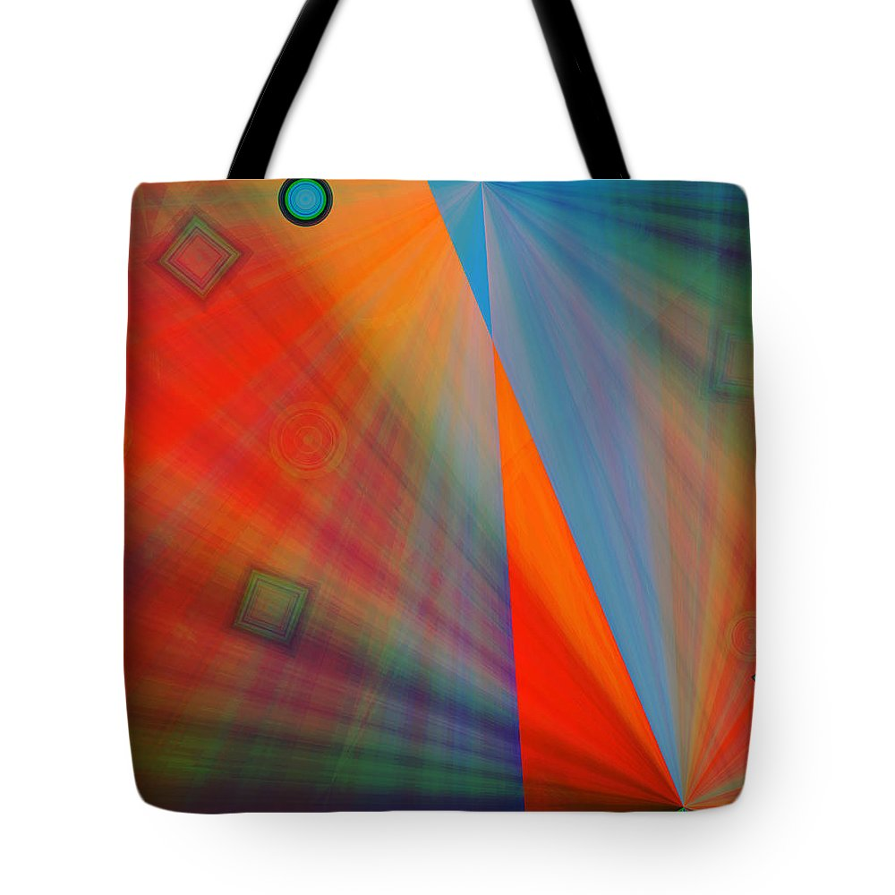 Emotions Tote Bag featuring the digital art Feeling It by Marie Jamieson