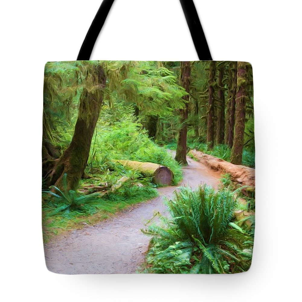America Tote Bag featuring the photograph Ferns And Mosses by Heidi Smith