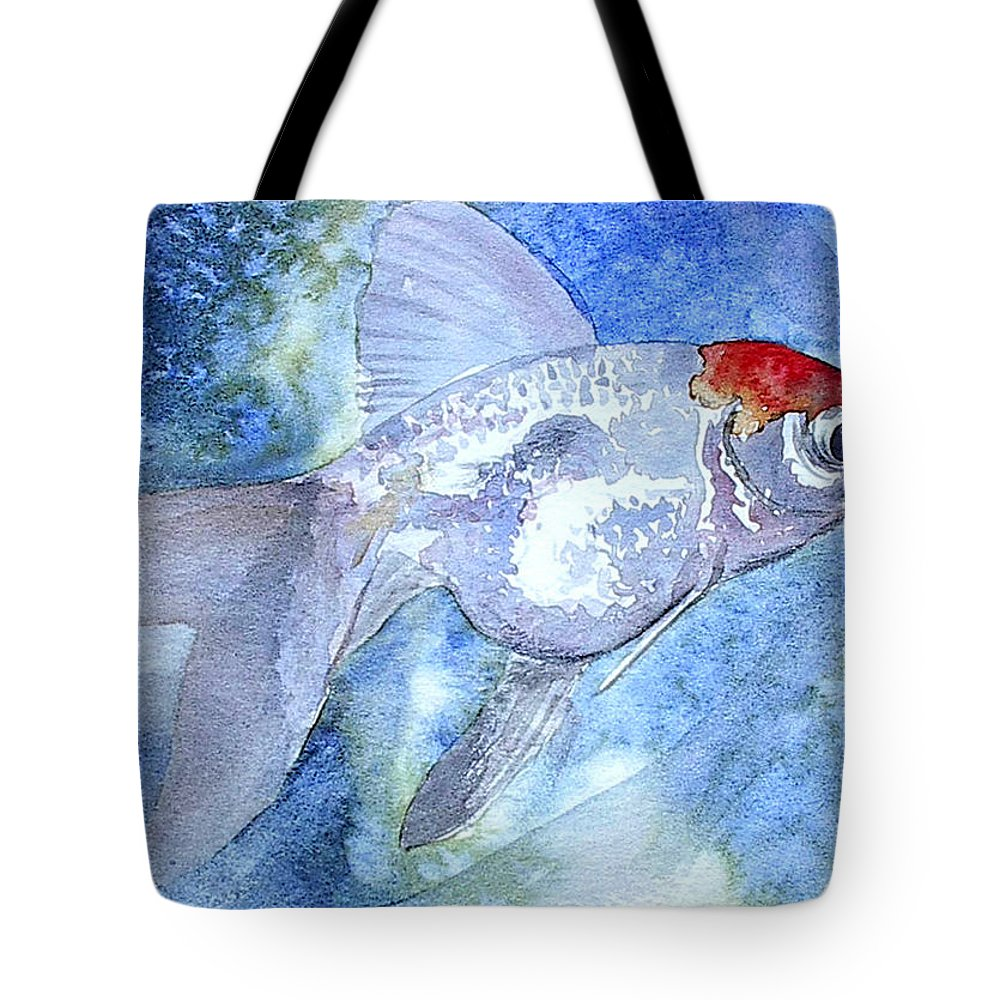 Fish Tote Bag featuring the painting Fillet by J Vincent Scarpace