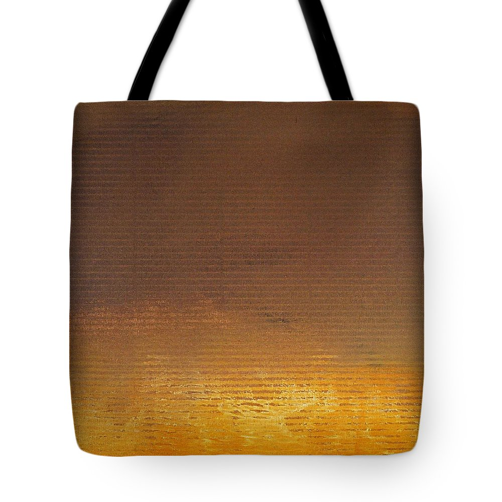 Red Tote Bag featuring the digital art Fire by Charles Stuart