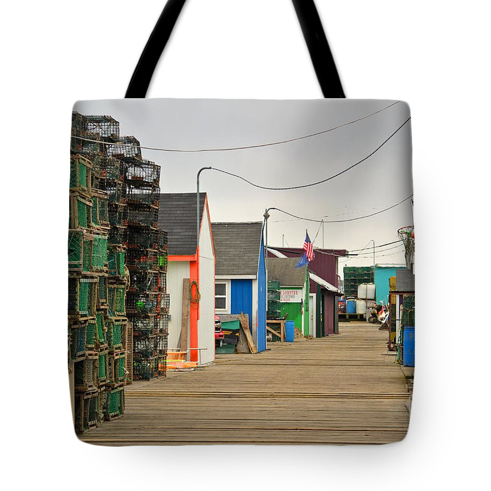 Portland Tote Bag featuring the photograph Fisherman's Trail by Brenda Giasson