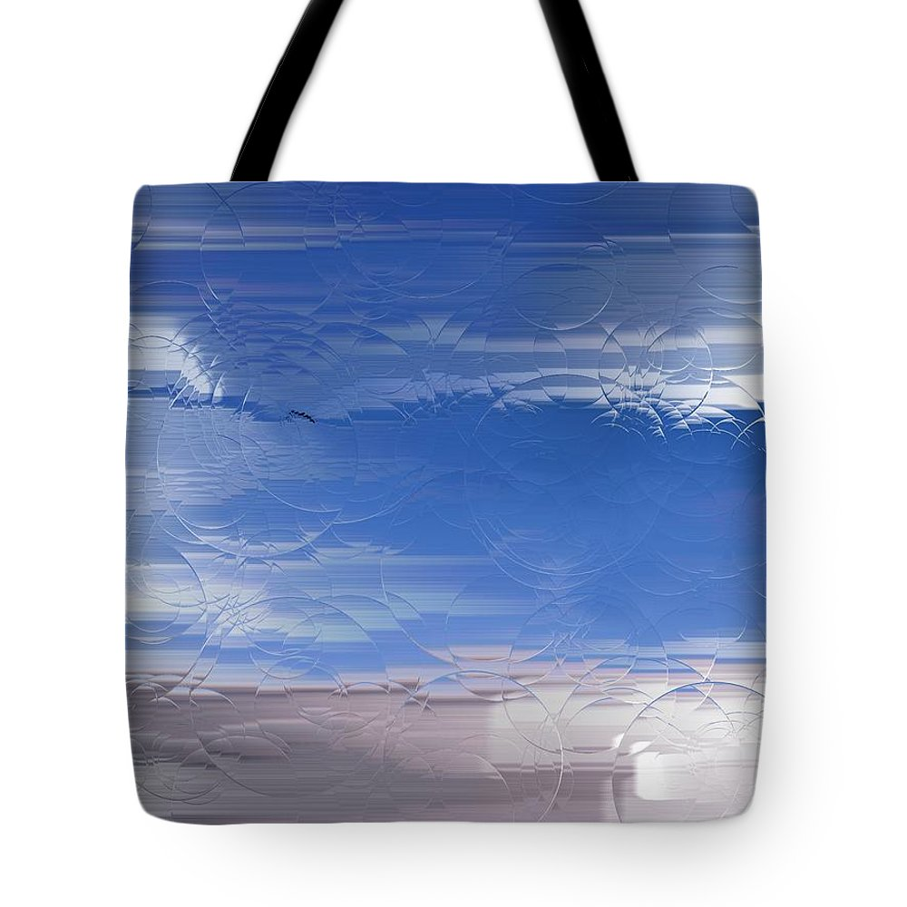 Flight Tote Bag featuring the painting Flight Under Glass by George Pedro