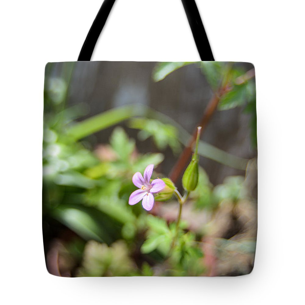 Agricultural Tote Bag featuring the photograph Floret by Michael Goyberg