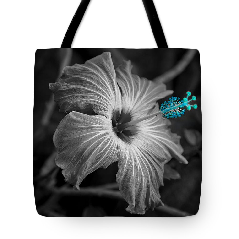 Flower Tote Bag featuring the photograph Flower 1 by Burney Lieberman