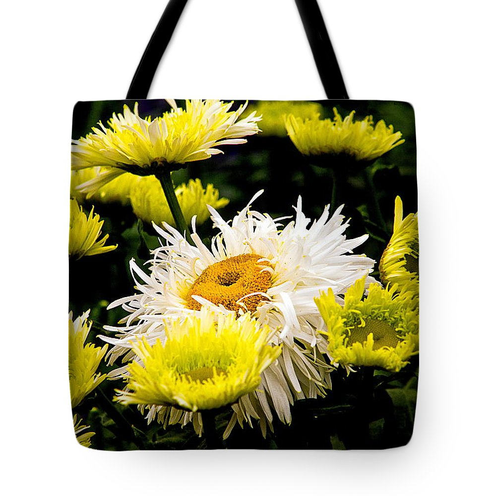 Tote Bag featuring the photograph Flower 21 by Burney Lieberman