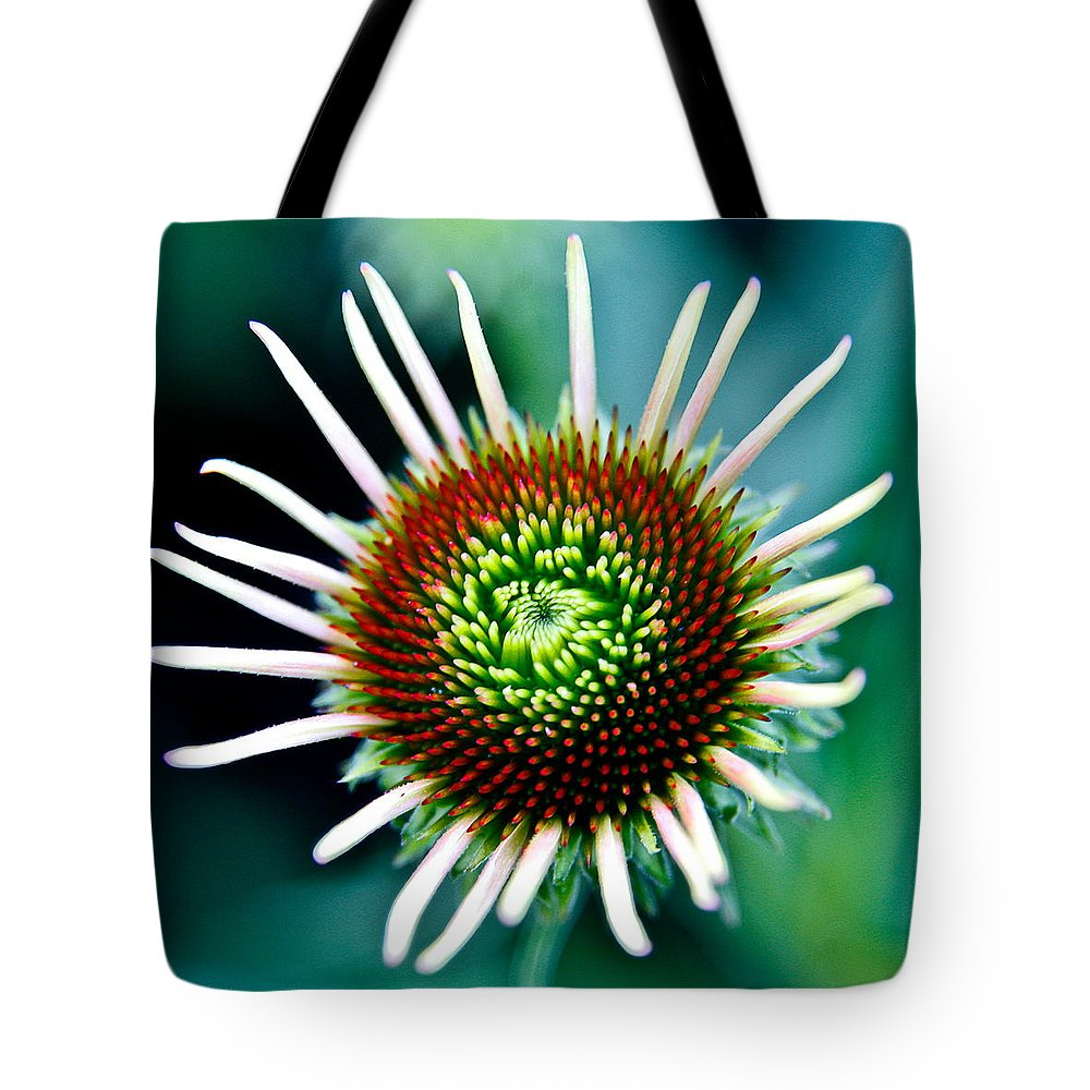 Tote Bag featuring the photograph Flower 31 by Burney Lieberman
