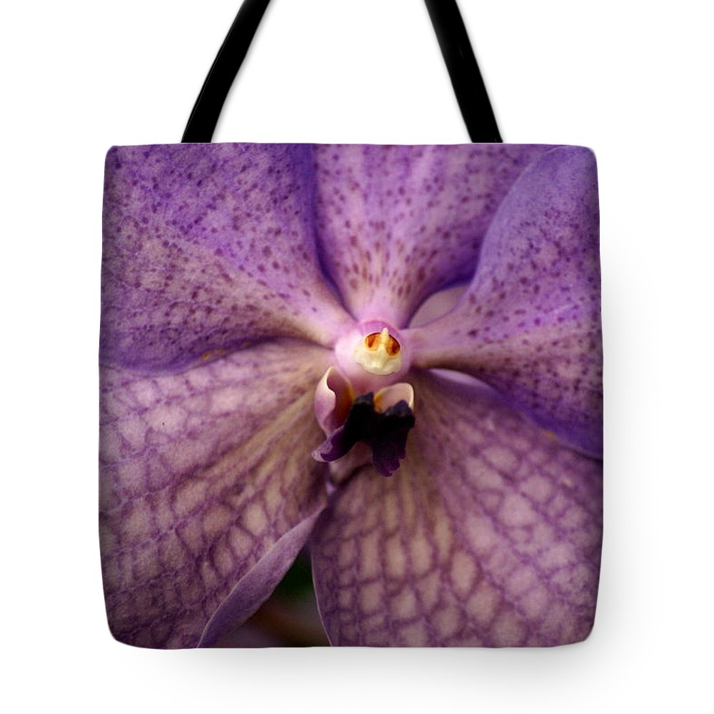 Flowers Tote Bag featuring the photograph Flower Face by Ben Upham III