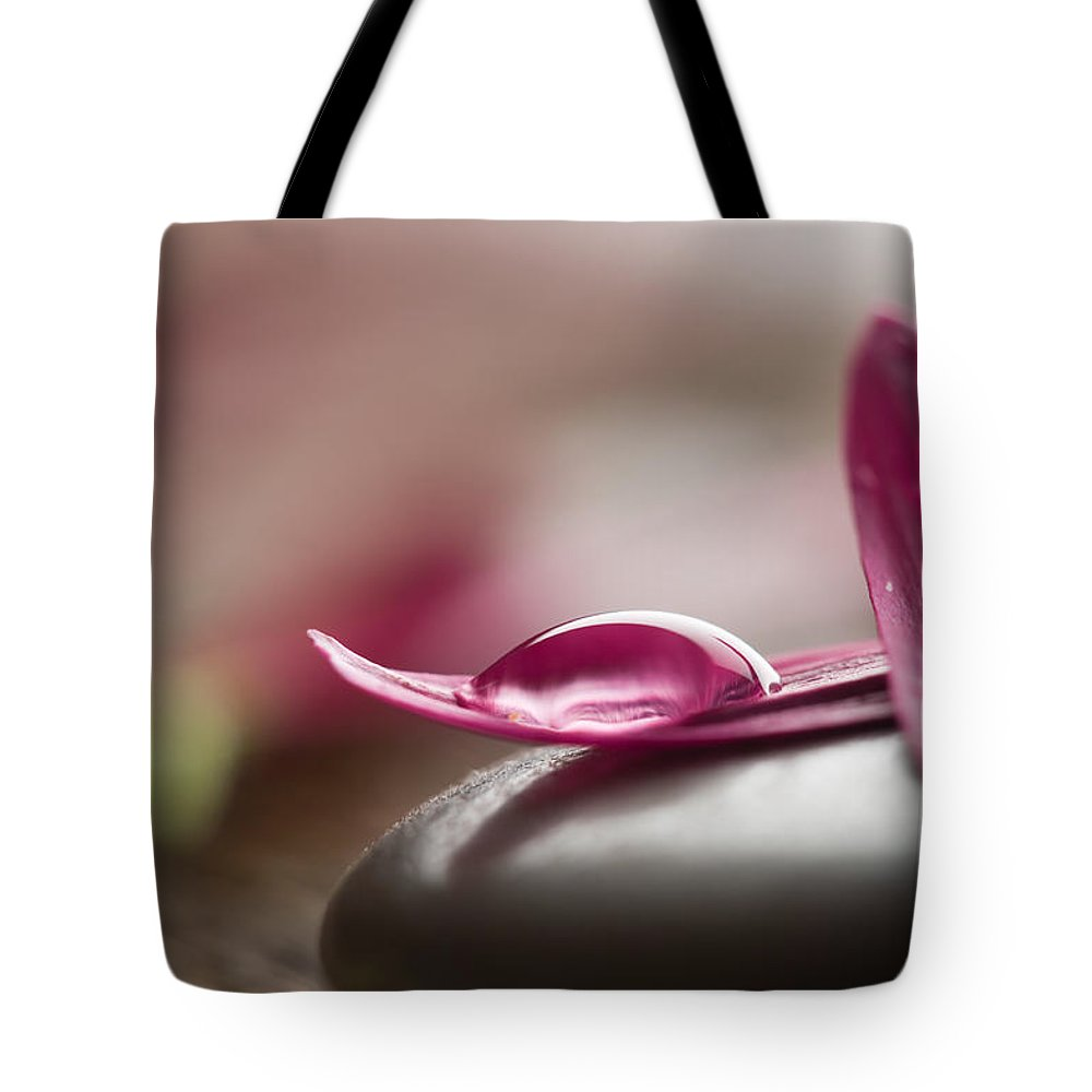 Alternative Tote Bag featuring the photograph Flower Petals by Kati Finell