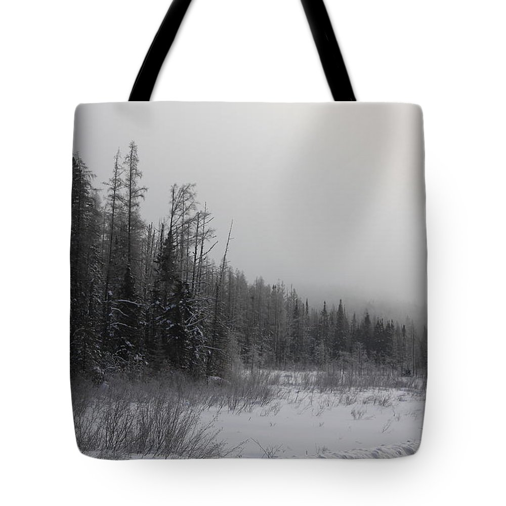 Tote Bag featuring the photograph Foggy Day by Joi Electa