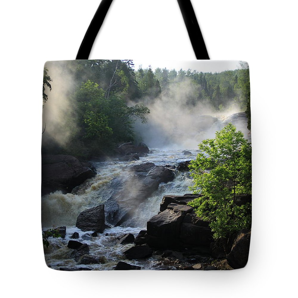 Tote Bag featuring the photograph Foggy Morning by Joi Electa