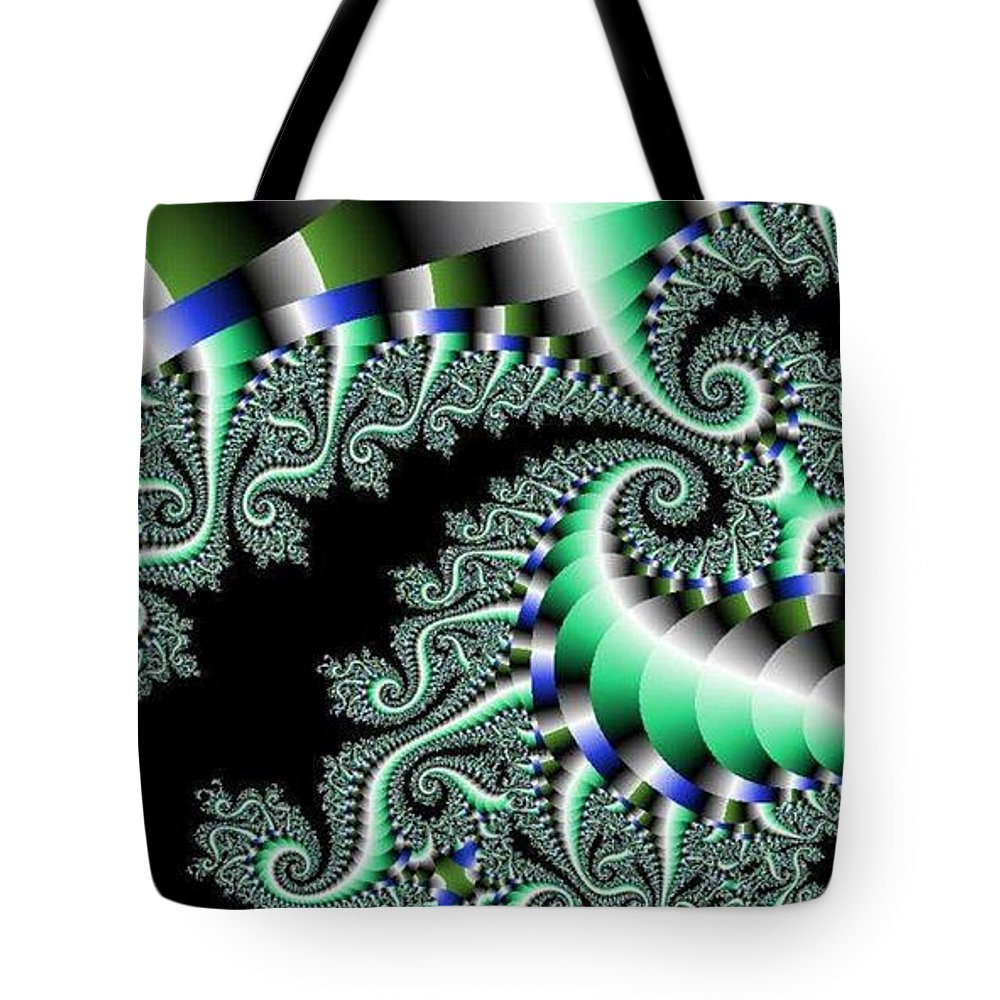 Paisley Tote Bag featuring the digital art Gazelle by Kelly Turner