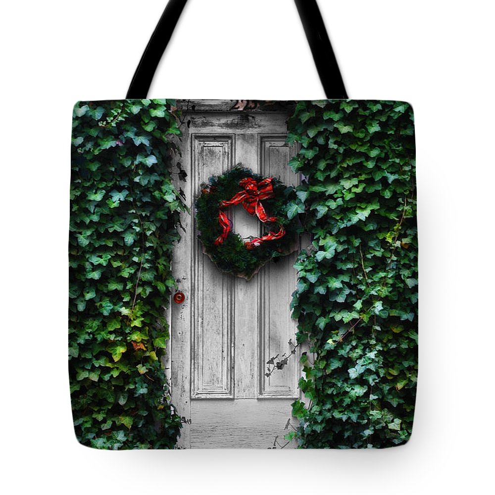 Ivy Tote Bag featuring the photograph For The Love Of Ivy by Bill Cannon