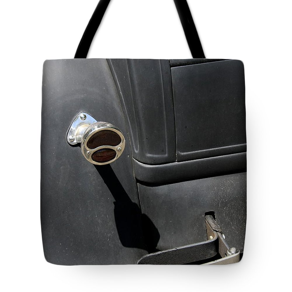 Taillight Tote Bag featuring the photograph Ford A 1931 Taillight by Christiane Schulze Art And Photography