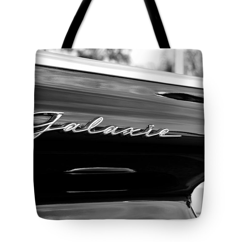 Fine Art Photography Tote Bag featuring the photograph Ford Galaxie by David Lee Thompson