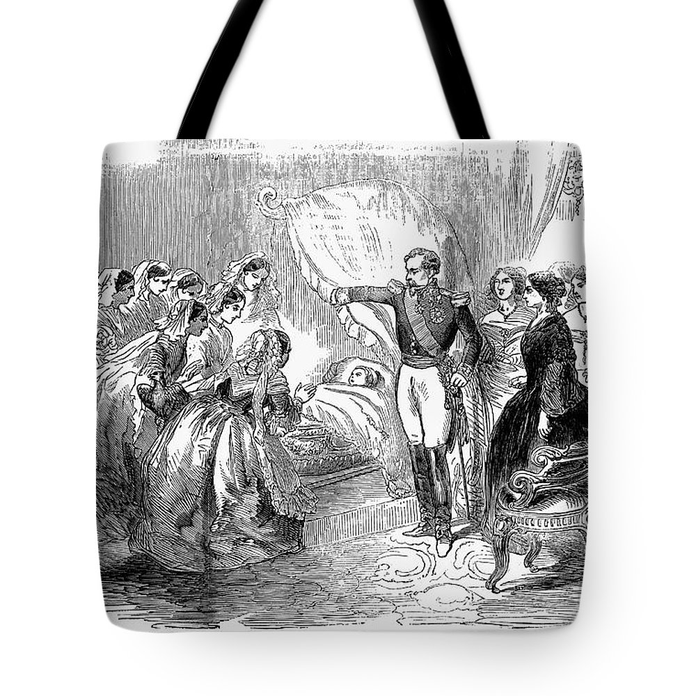 1856 Tote Bag featuring the photograph France: Imperial Prince by Granger