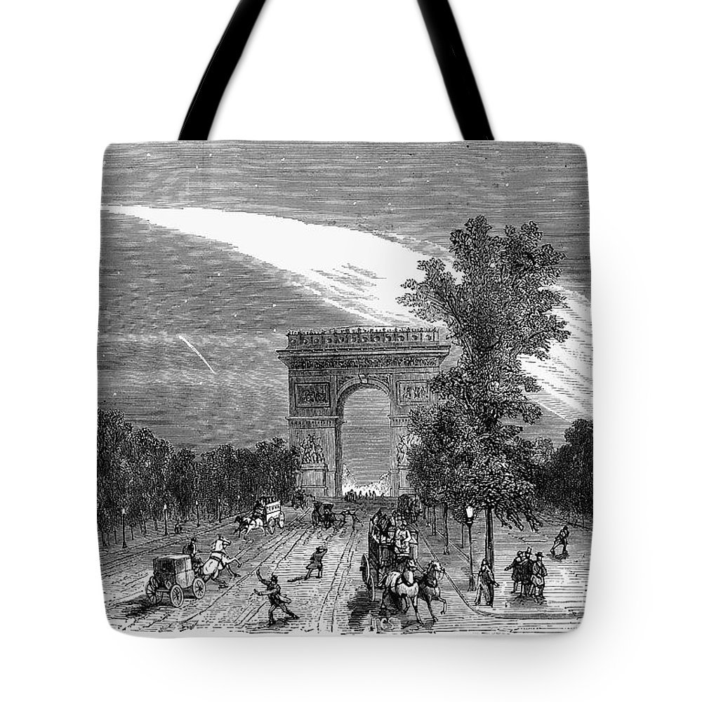 1868 Tote Bag featuring the photograph France: Meteor, 1868 by Granger