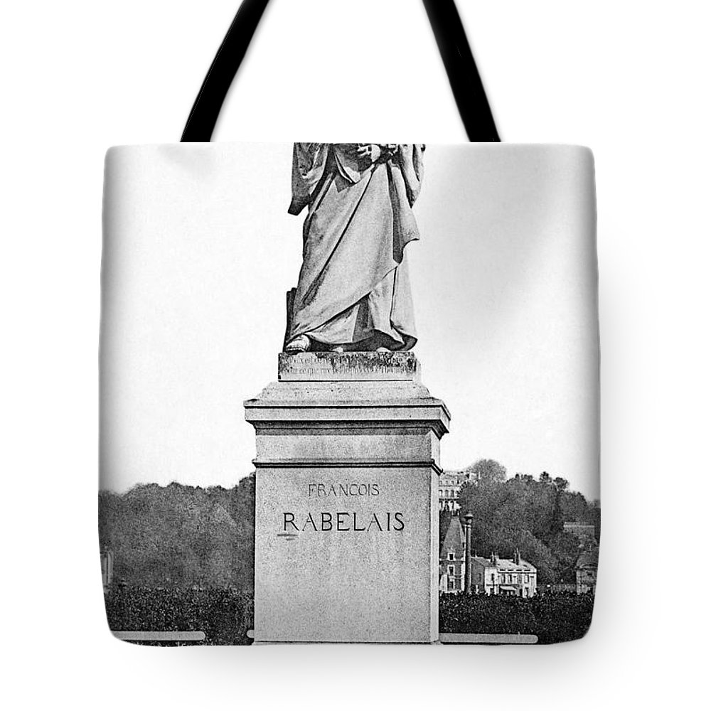 16th Century Tote Bag featuring the photograph Francois Rabelais by Granger
