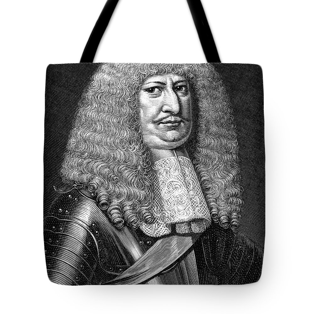 Brandenburg Tote Bag featuring the photograph Frederick William (1620-1688) by Granger
