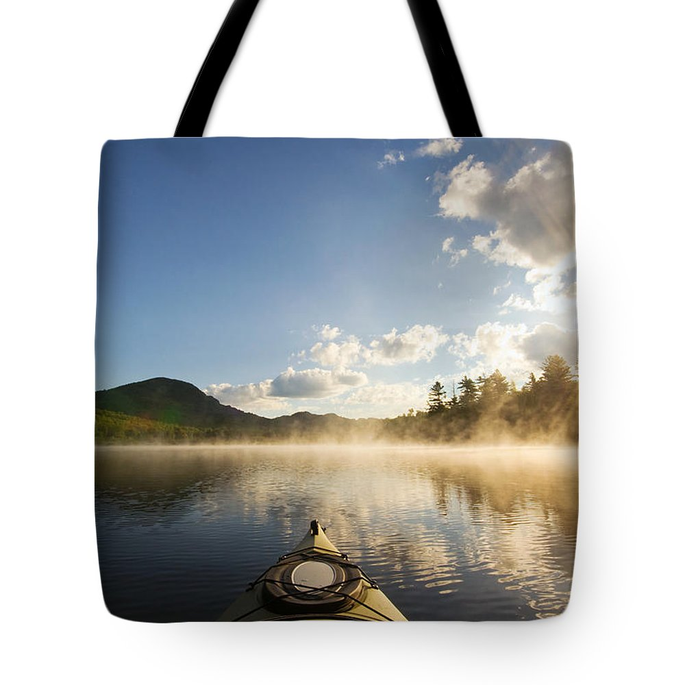 Kayak Tote Bag featuring the photograph Free To Be by Stephanie McDowell