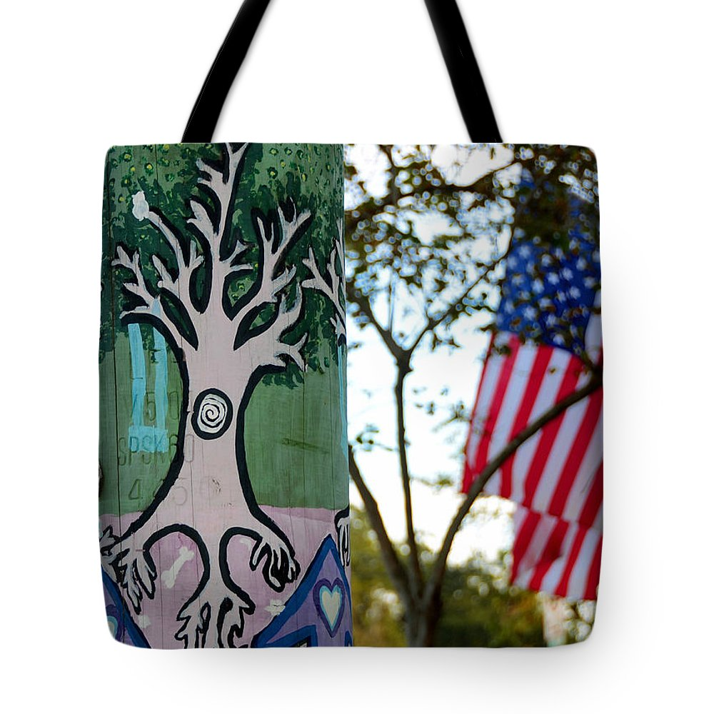 Fine Art Photography Tote Bag featuring the photograph Freedom Of Expression by David Lee Thompson