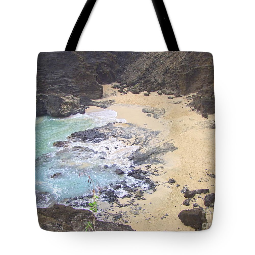 Beach Tote Bag featuring the photograph From Here To Eternity Beach by Mary Deal