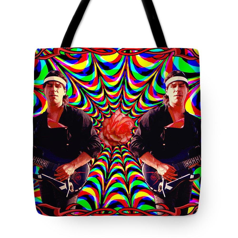 Spirit Tote Bag featuring the photograph From The Heart Of The Rose by Ben Upham