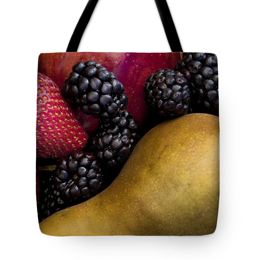 Food Tote Bag featuring the photograph Fruit 2 by Javier Barras