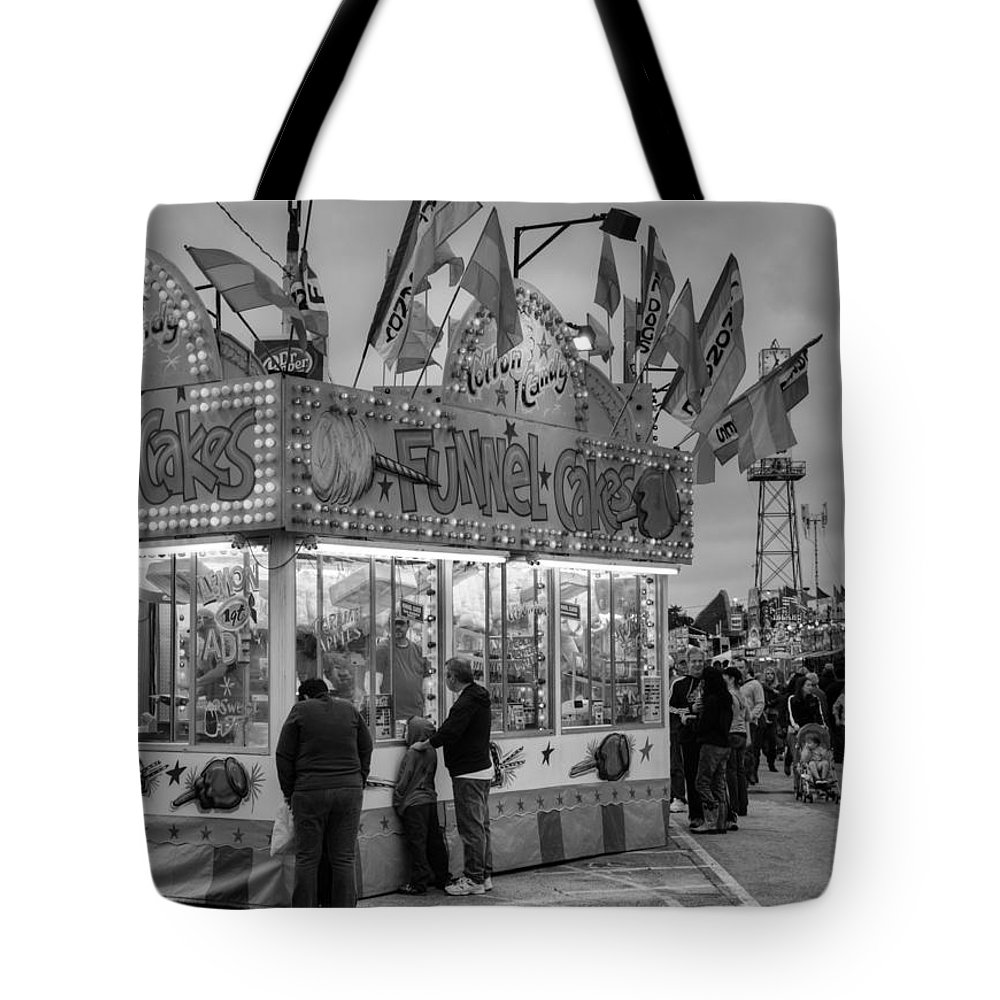 Fair Tote Bag featuring the photograph Funnel Cakes by Ricky Barnard