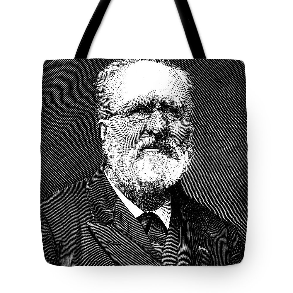 19th Century Tote Bag featuring the photograph Gabriel De Mortillet by Granger
