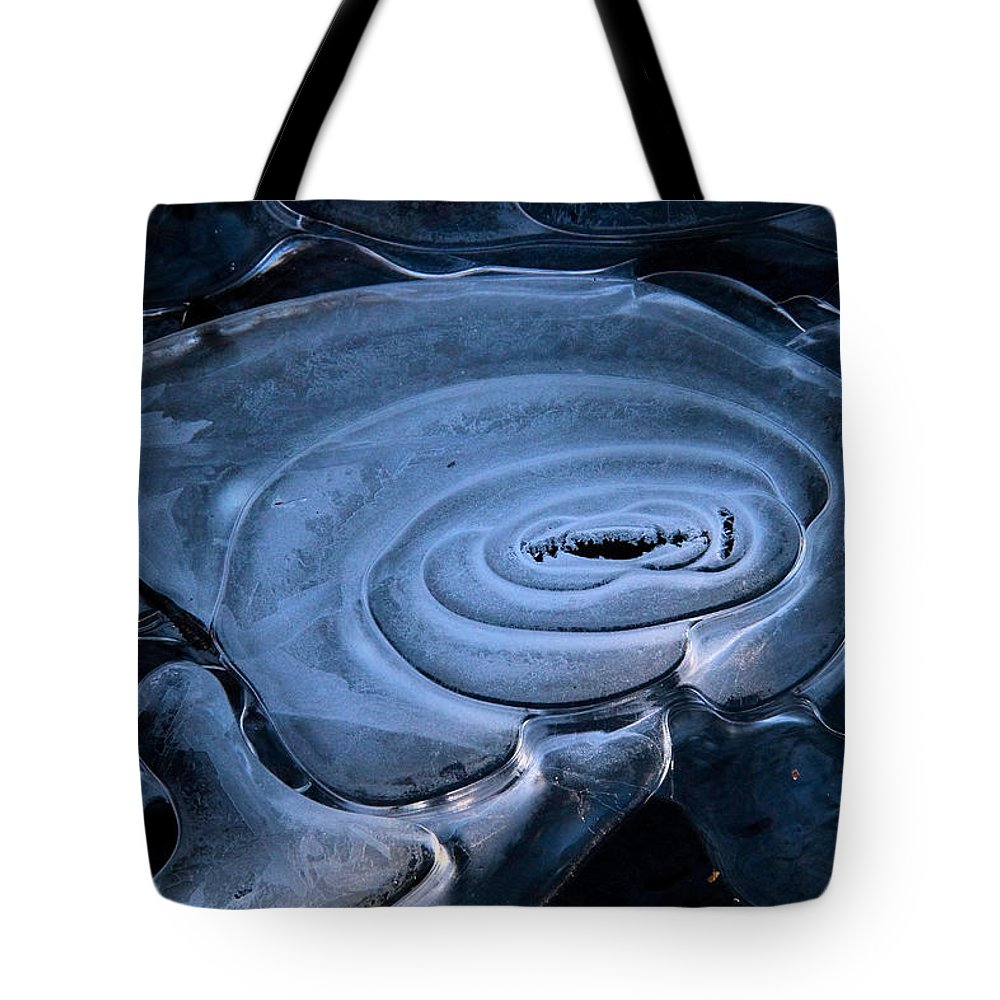 Ice Tote Bag featuring the photograph Galactic Ice by Doris Potter