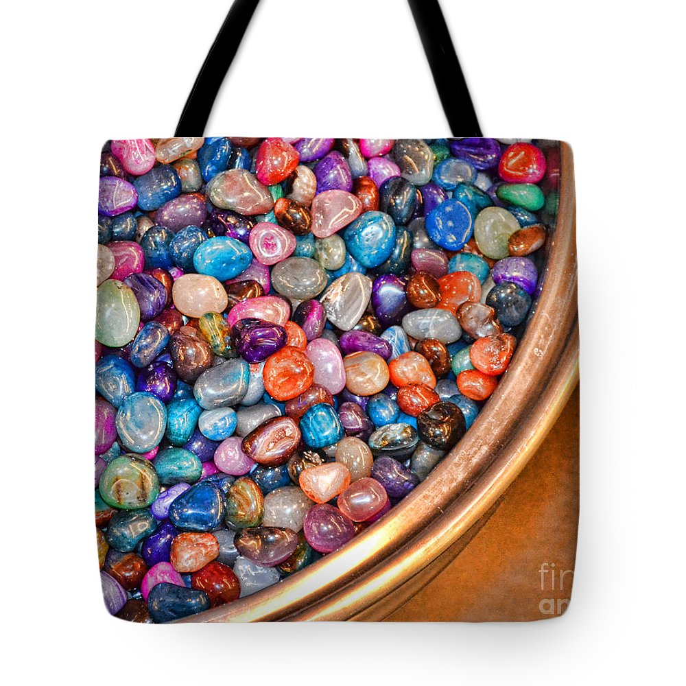 Gems Tote Bag featuring the photograph Gems by Traci Cottingham