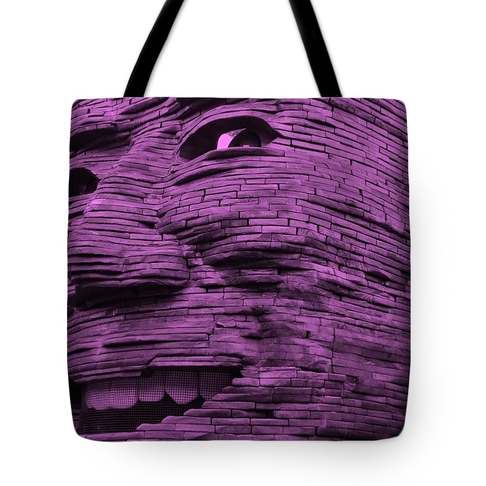 Architecture Tote Bag featuring the photograph Gentle Giant In Light Pink by Rob Hans