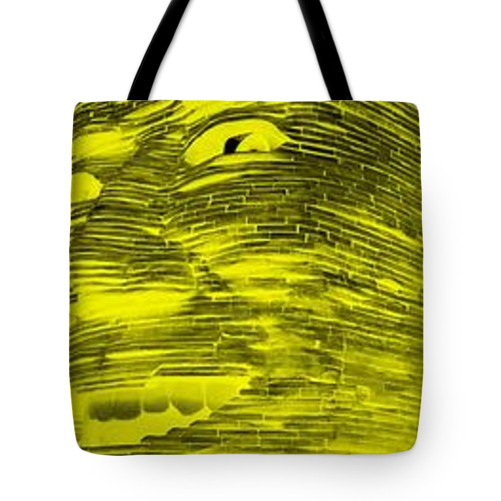 Architecture Tote Bag featuring the photograph Gentle Giant In Negative Colors by Rob Hans
