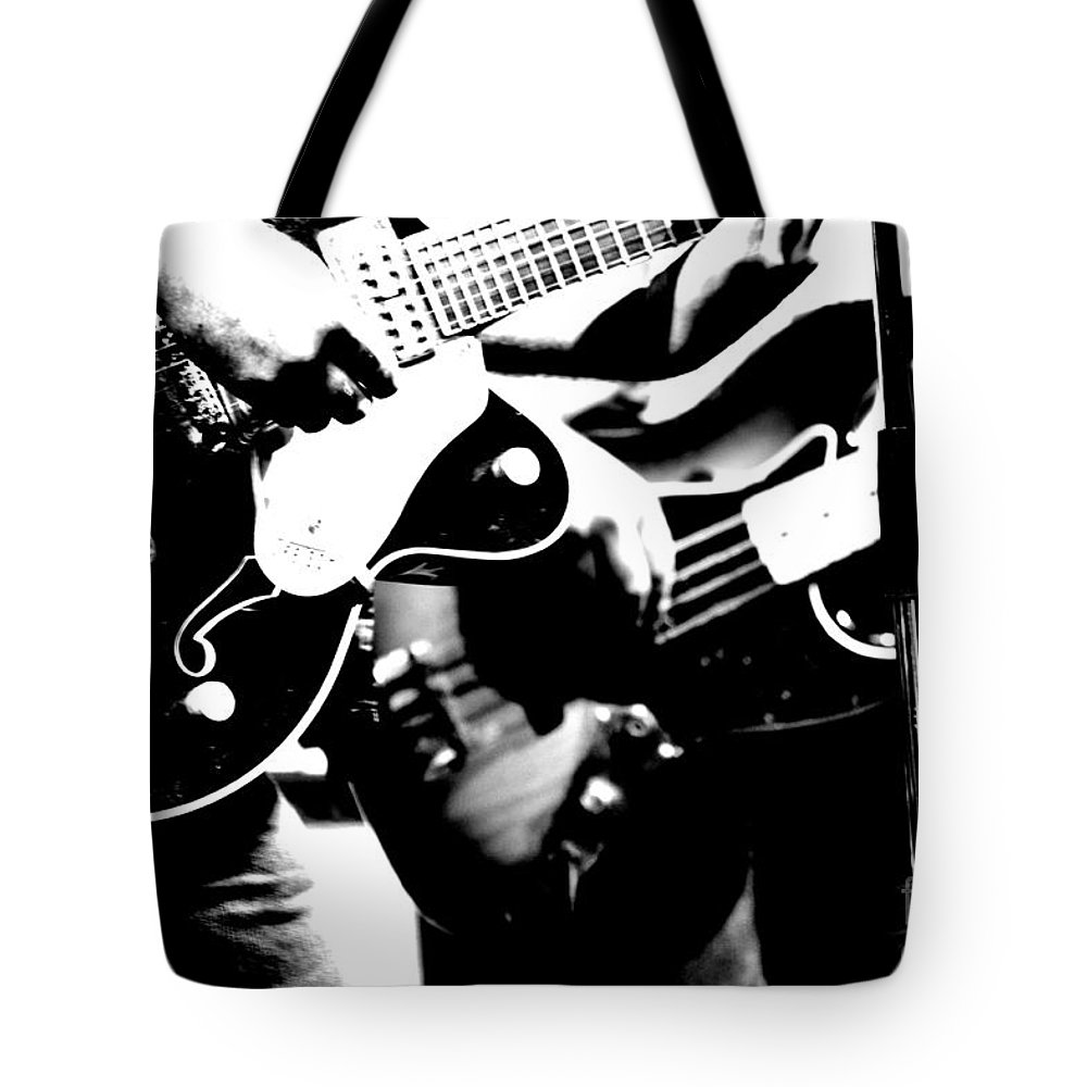 Concert Tote Bag featuring the photograph Gentlemen Husbands by Traci Cottingham