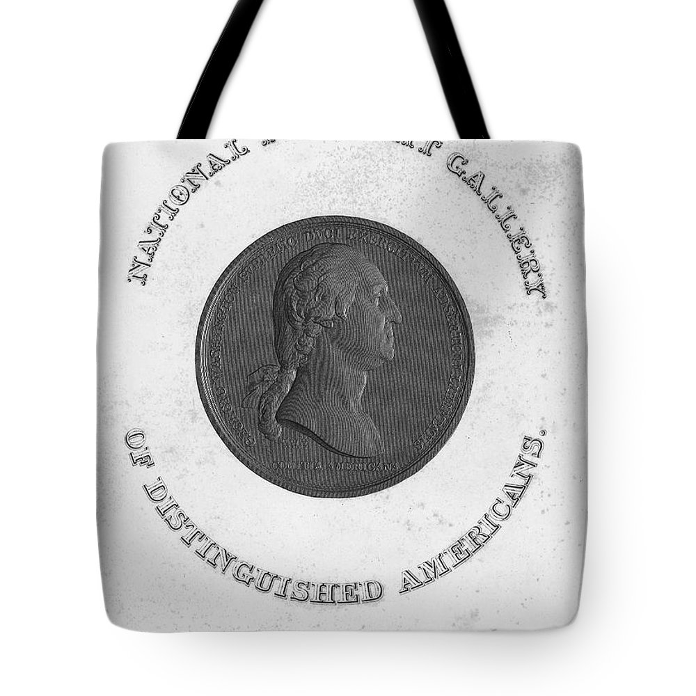18th Century Tote Bag featuring the photograph George Washington (1732-1799) by Granger
