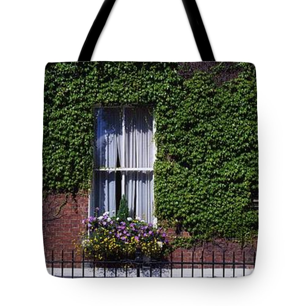 Climbing Tote Bag featuring the photograph Georgian Doors, Fitzwilliam Square by The Irish Image Collection
