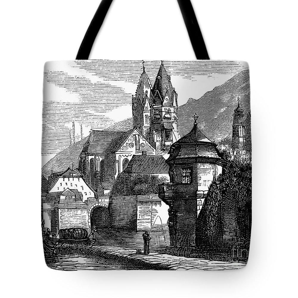 1870 Tote Bag featuring the photograph Germany: W�rzburg by Granger